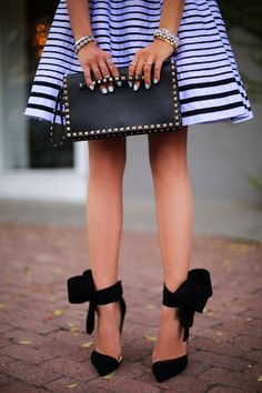 100 Gorgeous Shoes From Pinterest For S/S2014 - Style Estate - Aminah Abdul Jillil bow pump