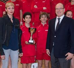 "Monaco's Prince Albert and Princess Charlène paid a visit to the Third Princess Charlene Rally, an event with the purpose of teaching young people with the true values of sport, ""teamwork, determination, respect and cooperation""."
