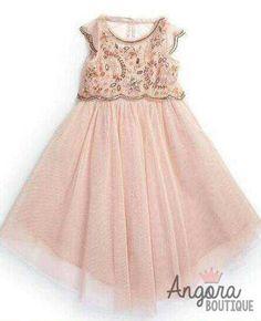 "The ""Penelope"" Golden Sequin Design Floral Dress - Angora Boutique - 3"