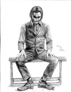 The Joker - The Dark Knight by Amanda Tolleson