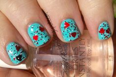Painted Nubbs: Spellbound Nails Off With Their Heads