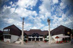 Google+Community center, Sárospatak, Hungary  -  architect:  Imre Makovecz
