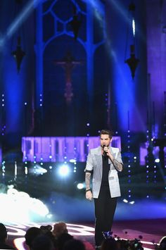Adam Lambert attends Logo TV's 'Trailblazers' at the Cathedral of St. John the Divine on June 25, 2015