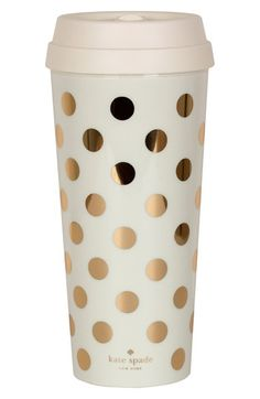 kate+spade+new+york+dot+thermal+travel+mug+available+at+#Nordstrom