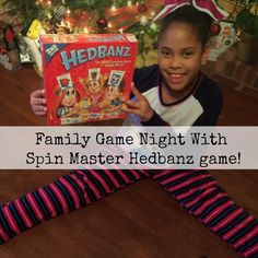 AD: Family Game night with  #Hedbanz Spin Master Games!