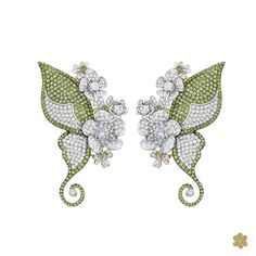 In this spring the butterflies shows their magic, radiating sparkle with delicacy and charm! Nesta primavera as borboletas mostram sua magia irradiando muito brilho com delicadeza e charme! #flowers #flower #spring #primavera #goldesignbrazilianjewellery #jewellery #goldesign #Jewellerslovers #NewCollection #GardenTales #diamonds #hautejewelry #hautejewels #diamonds #borboleta #butterfly #butterflies #borboletas