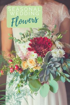 Every season offers a beautiful array of colors and inspiration for wedding flowers and decor! Use our guide to helping you select the perfect colors for your bouquet and decorations for a deep and romantic look for your special day. Diy Wedding Planner, Wedding Planning, Wedding Checklists, Wedding App, Elopement Wedding, Wedding Bride, Wedding Colors, Wedding Flowers, Unplugged Wedding