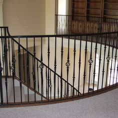 Beautiful Metal Stair Railing! Cast Iron Railings, Iron Stair Railing, Iron  Balusters,