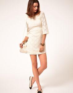 lace dress. :)