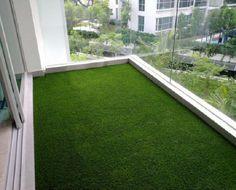 grass balcony urbanhome.com.sg Blinds Singapore