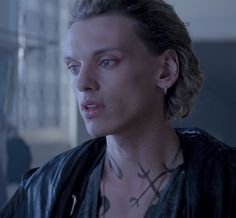 Jamie Campbell Bower as Jace Wayland in The mortal instruments city of bones