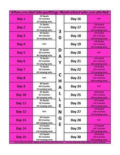 30 day challenge!