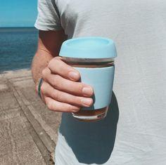 Blue sky, blue sea, blue Wave Cup #ecofriendly #reusable #coffee #gogreen