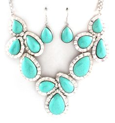 Eva Statement Necklace in Tuscan