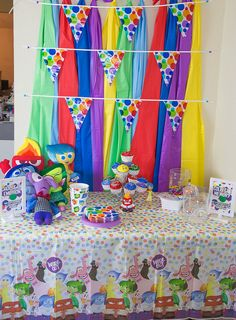 Inside Out Party Set Up