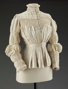 Woman's blouse  English, 1890s  Designed by Liberty & Co.
