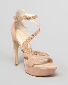 Enzo Angiolini Strappy Sandals - Taelon High Heel
