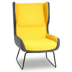 Canary Yellow Chair.