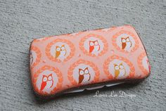 Sweet Owls on Peach Boutique Style Travel by LauraLeeDesigns108, $10.00
