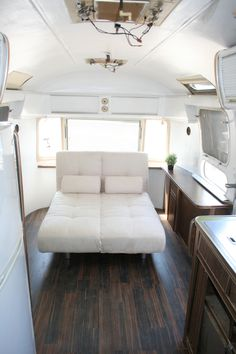 Airstream remodel with lots of before and after pics