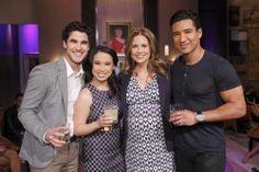 Darren Criss, Mario Lopez & Jenna Fischer on Hollywood Game Night