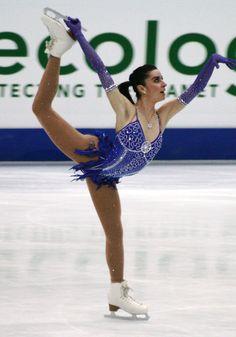 Valentina Marchei - Blue Figure Skating / Ice Skating dress inspiration for Sk8 Gr8 Designs.