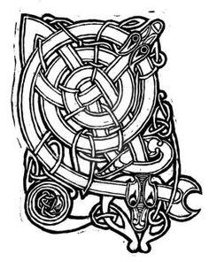 Celtic Knot Print by auronstalker