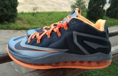 Nike LeBron 11 Low LAVA. For when you visit Hawaii.
