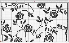 Crochet everything. Filet Crochet Charts, C2c Crochet, Crochet Home, Thread Crochet, Crochet Doilies, Fair Isle Knitting Patterns, Knitting Stitches, Doily Patterns, Crochet Patterns