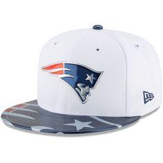 New England Patriots New Era 2017 NFL Draft Official On Stage 59FIFTY Fitted  Hat - White a7e2bb977