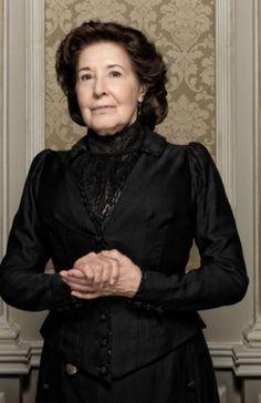 Gran Hotel.  Concha Velasco as  Angela Salinas- head housekeeper.