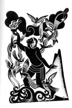 Boris Artzybasheff - Polynesian Tales illustration