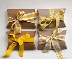simple and sweet craft pillow boxes