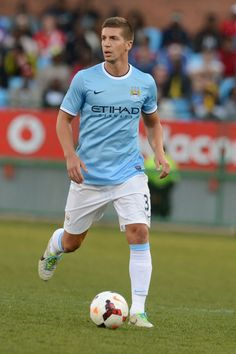 Matija Nastasic of Manchester City Soccer guys are seriously the hottest guy athletes.