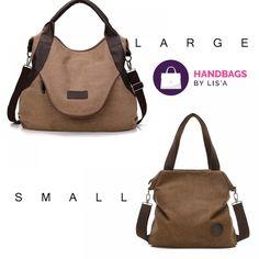d20ec91e78 Large Pocket Casual Tote Women s Handbag Shoulder Canvas Leather Capacity  Bags Item Type Handbags Exterior Solid Bag Number of Handles Straps Single  ...