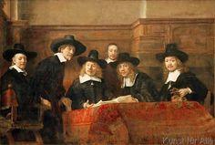 Harmensz van Rijn Rembrandt - Die Staalmeesters