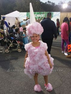 The Original Cotton Candy Costume...                                                                                                                                                      More