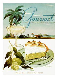 Gourmet, August 1944, by Henry Stahlhut