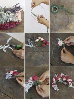 디콤마(d,), 웨딩, 셀프촬영, 화관(flower crown) 오랜만에 셀프촬영 공부를 다시ㅎㅎ오늘은 여자여자하니 ...