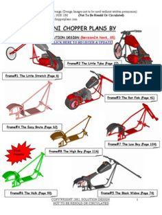 Mini Chopper Motorcycle, Chopper Bike, Motorcycle Design, Bike Design, Chopper Frames, Bicycle Engine Kit, Roller Chain, Motorized Bicycle, Drum Brake