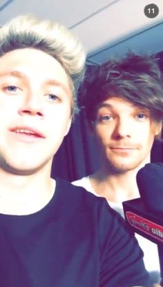 Nialler and Tommo backstage at the #PhillyOTRA concert xx