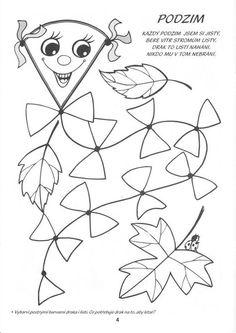 Našli sme pár nových pinov na vašu nástenku geometricke tvary - mschrastany@azet.sk Autumn Activities For Kids, Fall Crafts For Kids, Coloring Sheets, Coloring Pages, Board Decoration, Autumn Crafts, School Colors, Applique Patterns, Colour Images