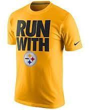 NFL Pittsburgh Steelers Nike Black Run With T-Shirt
