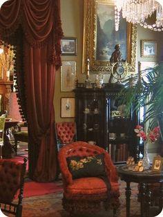 Victorian Parlor Photos | Victorian: #Victorian parlor. | Steampunk & Neo-Victorian