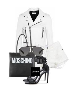 Untitled #1479 by elinaxblack on Polyvore featuring polyvore, fashion, style, Casadei, Moschino, Dolce&Gabbana and clothing