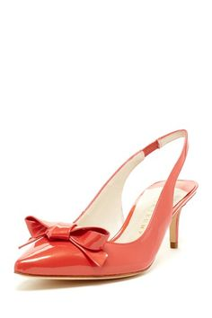 Ivanka Trump Lovely Bow Slingback Pump by Dress To Impress on @HauteLook