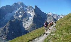 hiking Mont Blanc