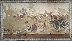 40. Alexander Mosaic from the House of the Faun, Pompeii