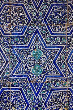 Bukhara Blue Tiles, Uzbekistan