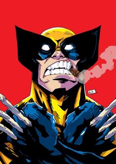 Wolverine by Riza Turker Comics Anime, Marvel Comics Art, Marvel Heroes, Marvel Comic Character, Marvel Characters, Comic Books Art, Comic Art, Marvel Comic Books, Wolverine Art